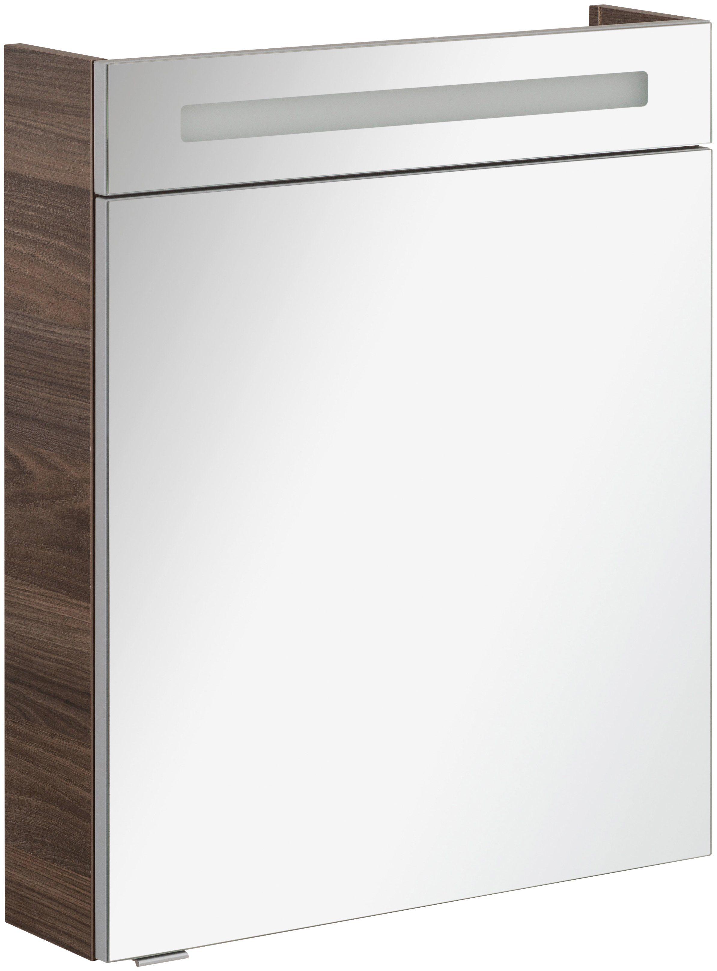 FACKELMANN Spiegelschrank »CL 60 - Ulme-Madera«, Breite 60 cm, 1 Tür