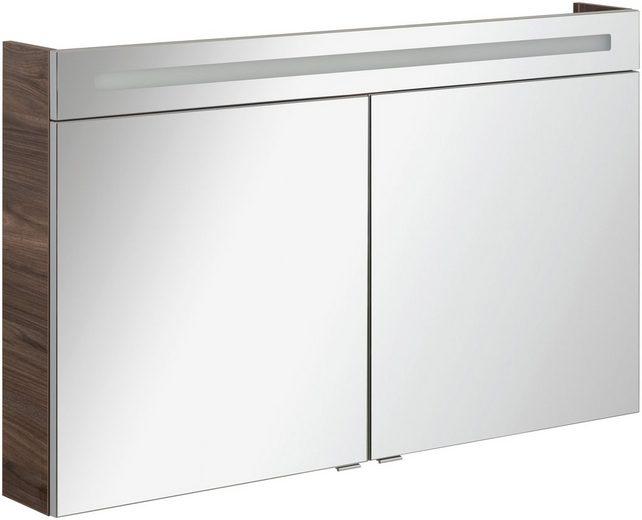 FACKELMANN Spiegelschrank »CL 120 - Ulme-Madera«, Breite 120 cm, 2 Türen