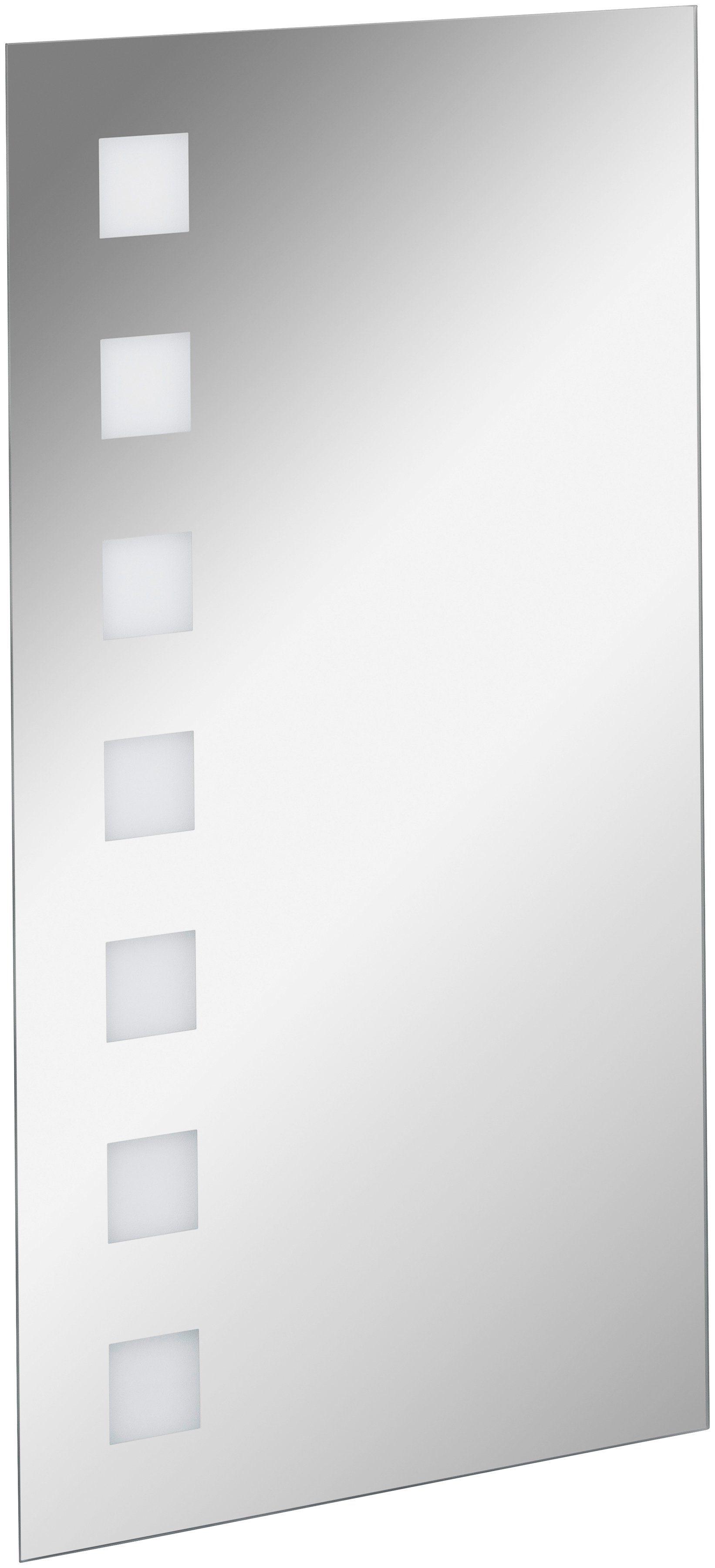 FACKELMANN Spiegelelement »KARO«, Breite 40 cm, mit Ambientelicht