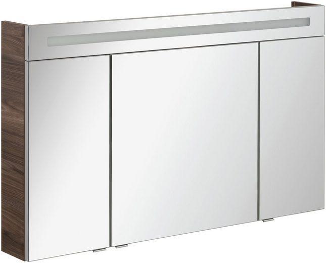 FACKELMANN Spiegelschrank »CL 120 - Ulme-Madera«, Breite 120 cm, 3 Türen
