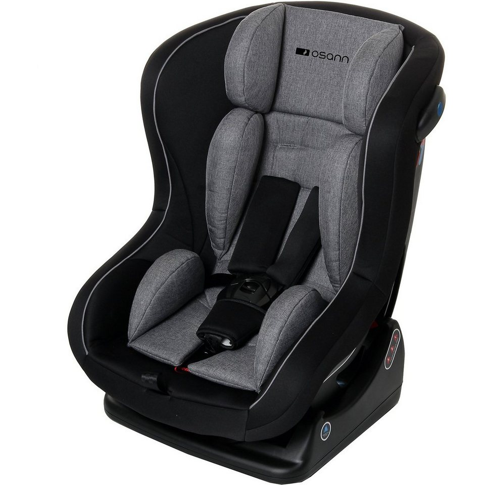 osann auto kindersitz safety baby grey melange 2018. Black Bedroom Furniture Sets. Home Design Ideas