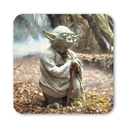 LOGOSHIRT Untersetzer mit Master Yoda-Motiv