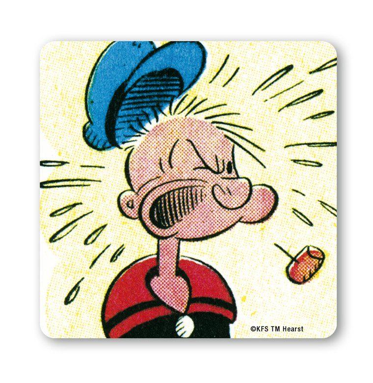 LOGOSHIRT Untersetzer im Popeye-Design