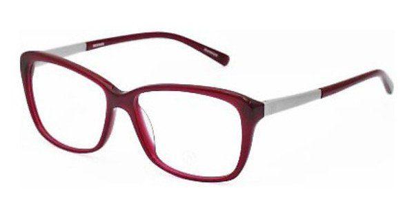 Bogner Damen Brille » BG522«, rot, D - rot