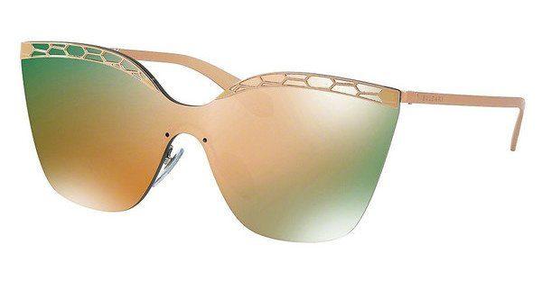 BVLGARI Bvlgari Damen Sonnenbrille » BV6093«, rosa, 20144Z - rosa/ gold