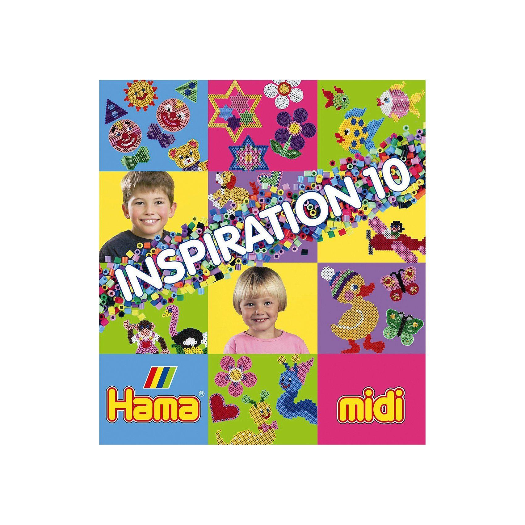 Hama Perlen midi Inspirationsheft Nr. 10