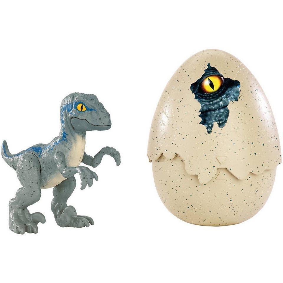 """Mattel® Jurassic World Schlüpfender Dino Velociraptor """"Blau"""" online kaufen"""
