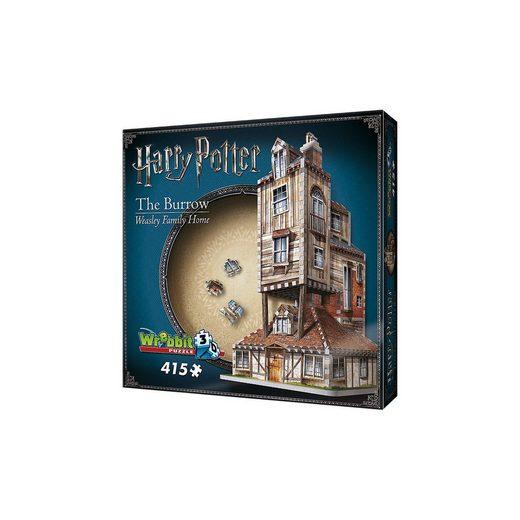 Wrebbit 3D Puzzle 415 Teile Harry Potter Fuchsbau