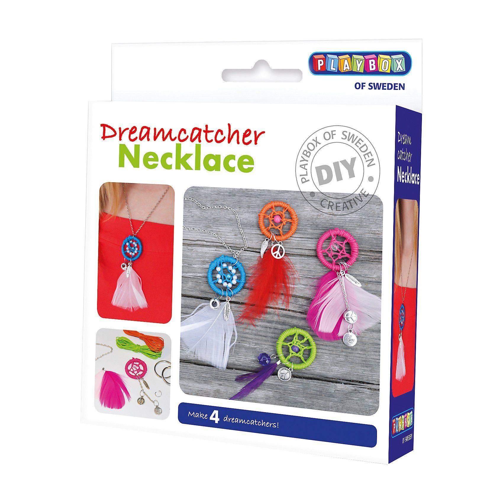 Playbox Bastelset Halskette Traumfänger