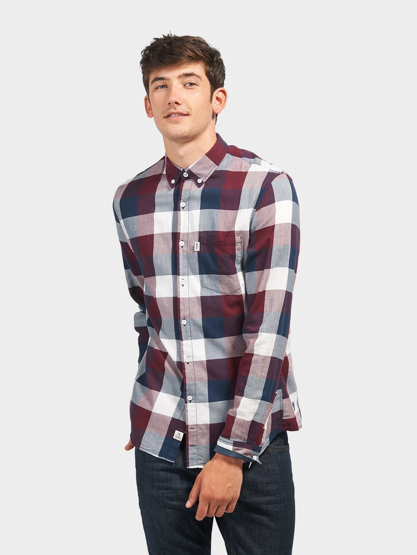 Tom Tailor Denim Hemd »mit Karo-Muster« | Bekleidung > Hemden > Sonstige Hemden | Tom Tailor Denim