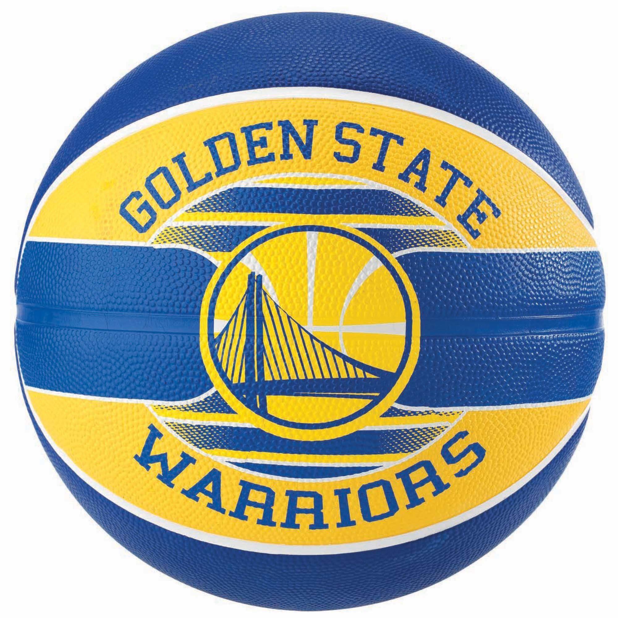 Spalding NBA Team Golden State Warriors Outdoor Basketball