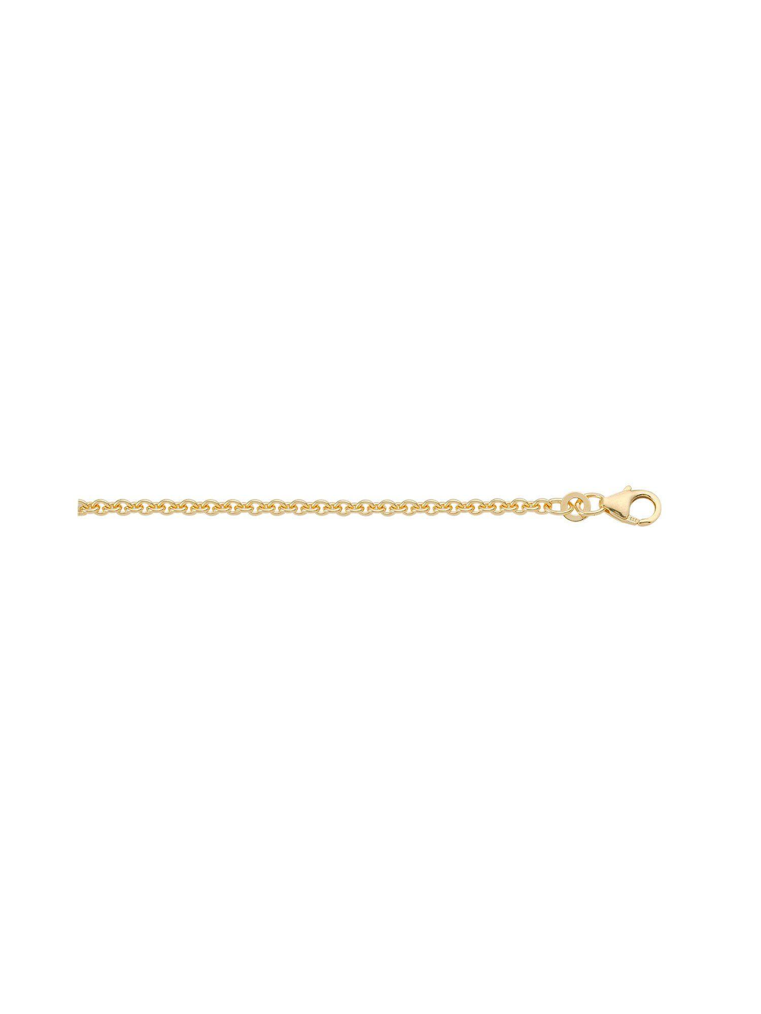 Adelia´s Goldkette »Gold Halsketten« 14 k 585 Gelbgold Ankerkette rund 1,9 mm
