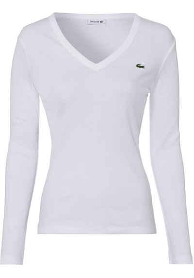 Lacoste V-Shirt im klassischen Stil