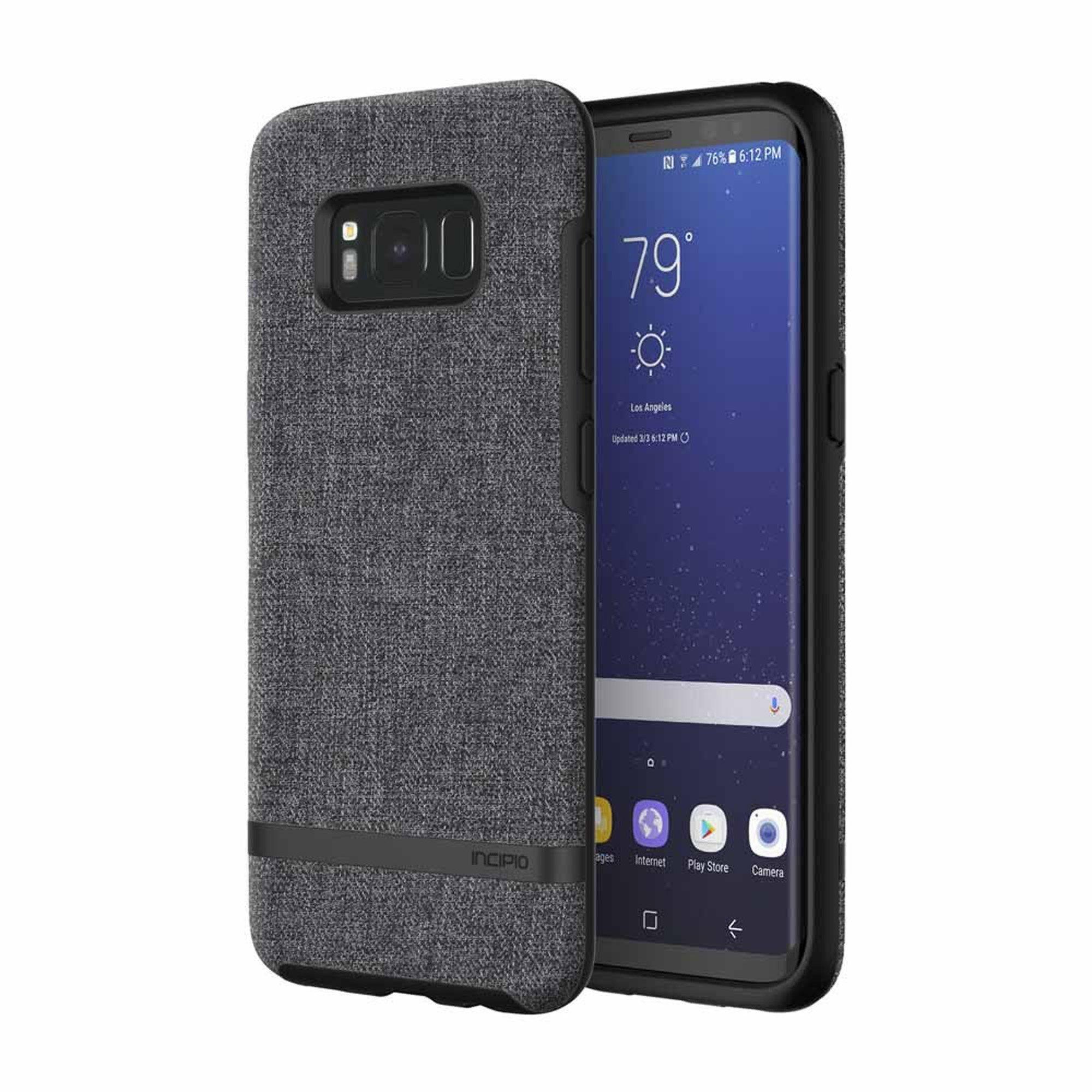 Incipio Smartphone Hülle »Esquire Series Gray Galaxy S8«