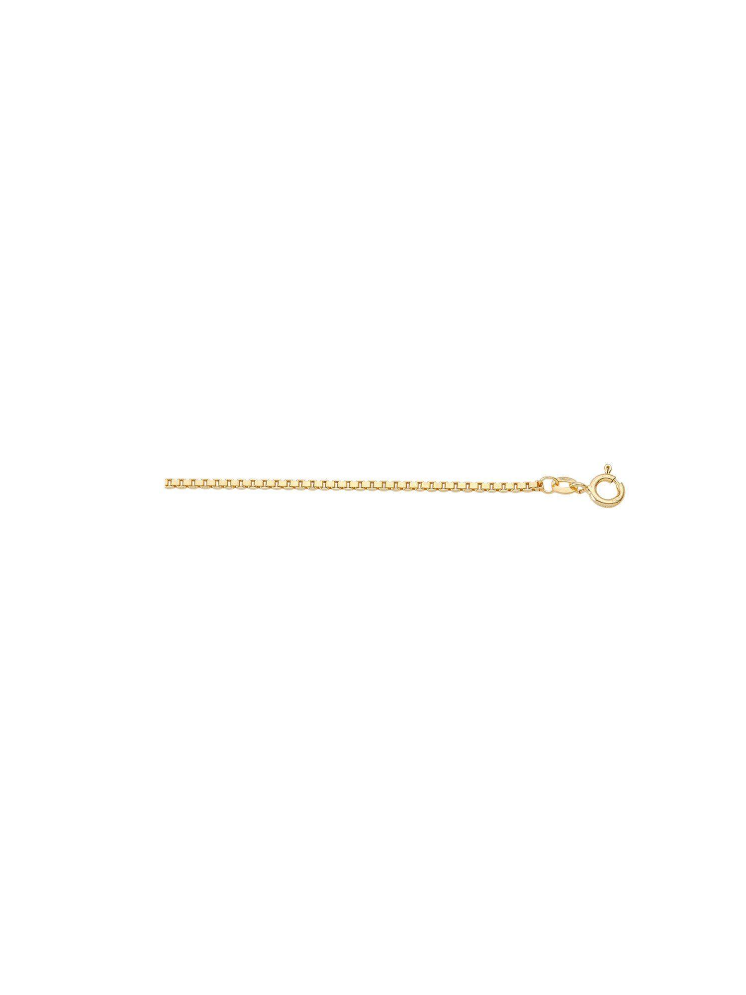 Adelia´s Goldkette »Gold Halsketten« 14 k 585 Gelbgold 1 mm