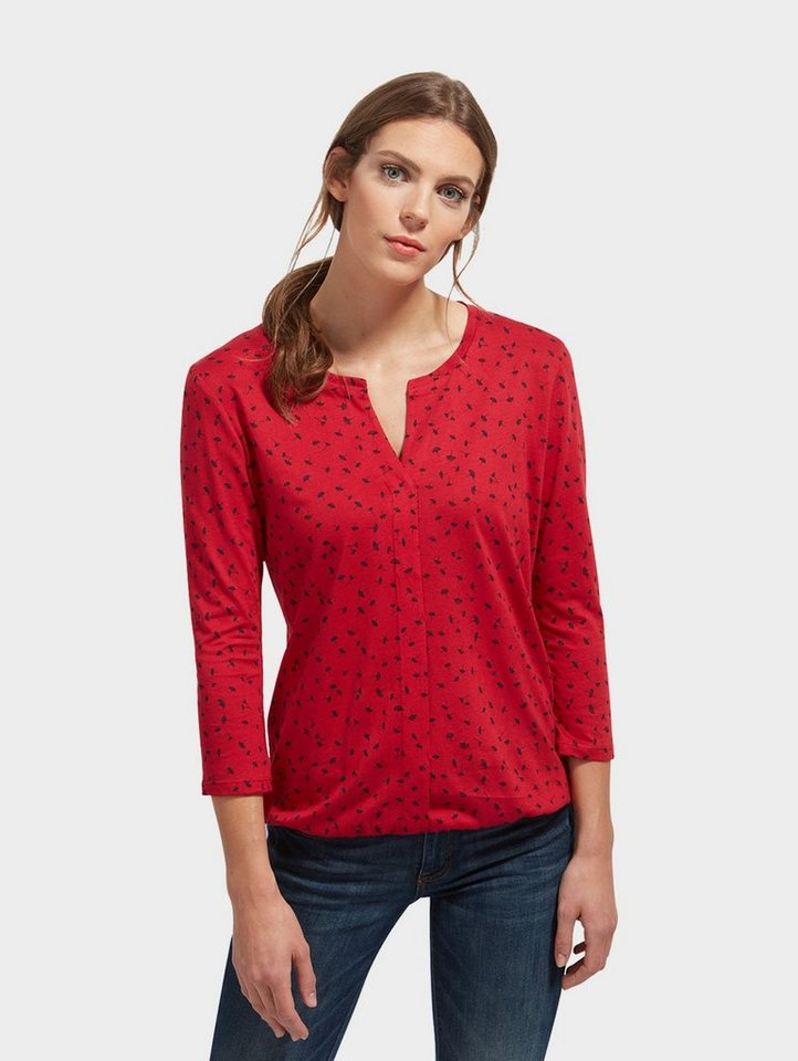 TOM TAILOR 3/4-Arm-Shirt »mit floralem Print« | OTTO