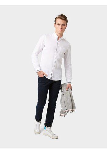 Herren Tom Tailor Denim Slim-fit-Jeans Piers Super Slim blau | 04057655718107