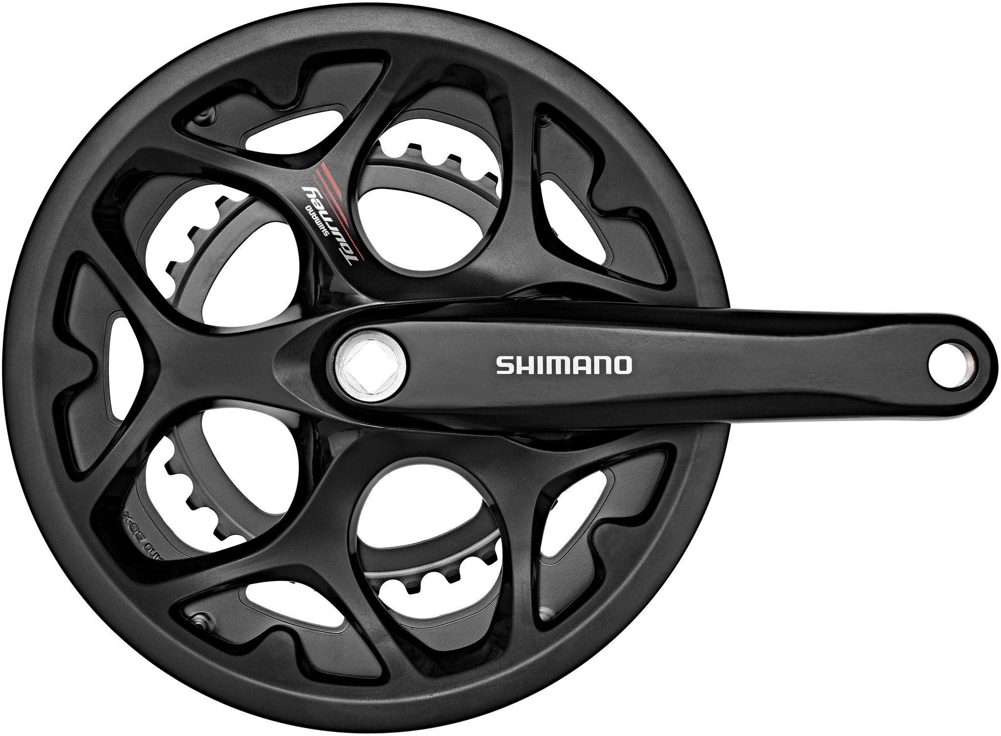 Shimano Kurbel »Tourney FC-A070 Kurbelgarnitur 7/8-fach KSR«