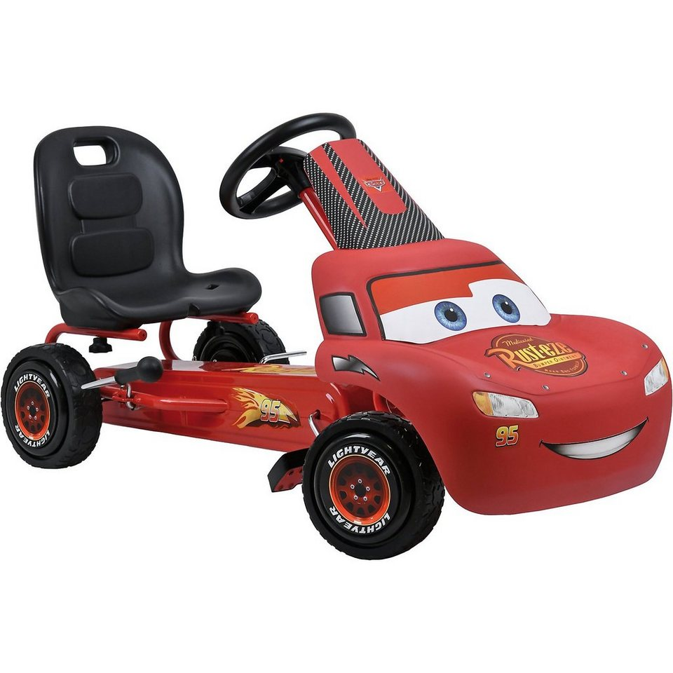 hauck go kart lightning mcqueen cars online kaufen otto. Black Bedroom Furniture Sets. Home Design Ideas