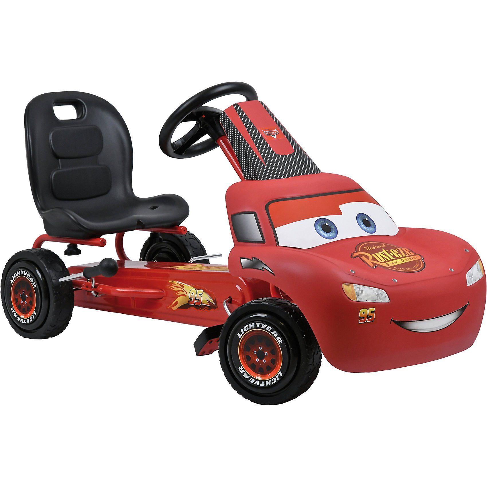 Hauck Go-Kart Lightning McQueen Cars