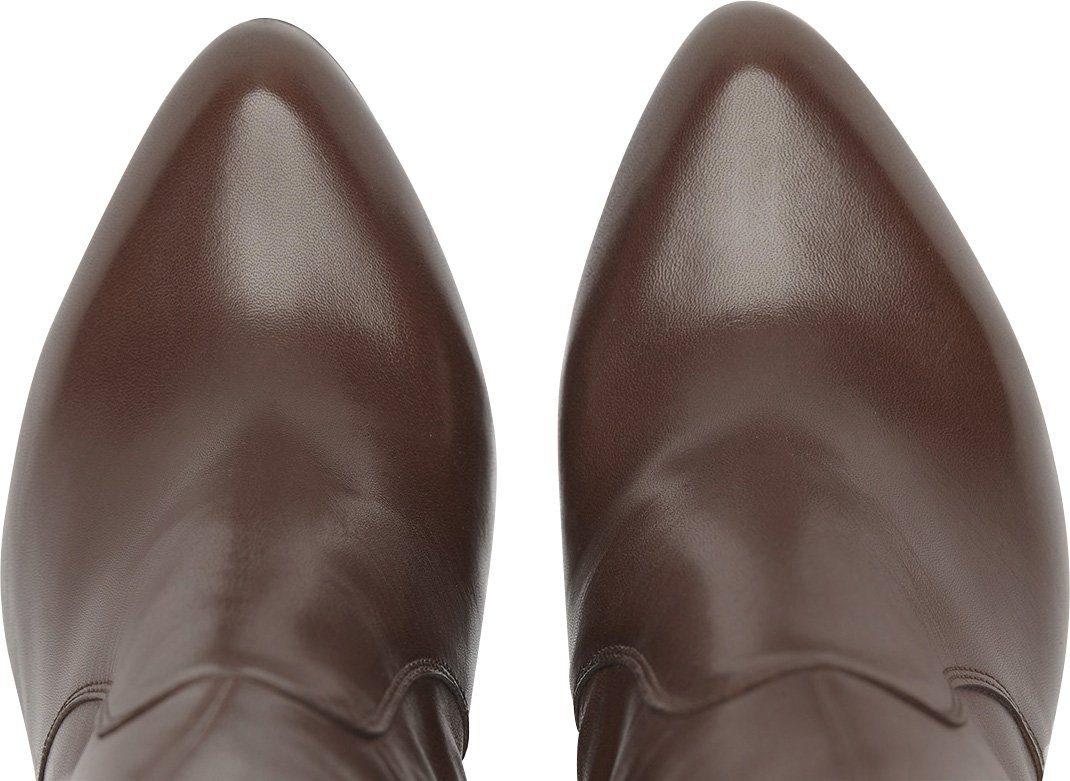 PoiLei Lola High-Heel-Stiefel, aus feinem italienischen Echtleder online kaufen  braun
