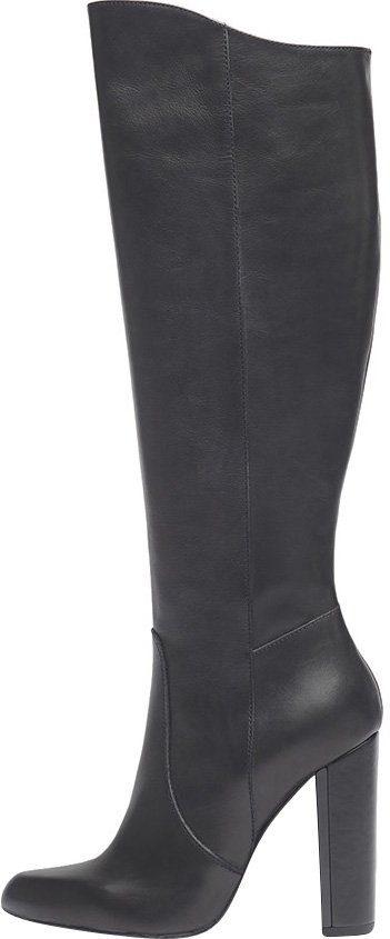 PoiLei Lola High-Heel-Stiefel, aus feinem italienischen Echtleder online kaufen  schwarz
