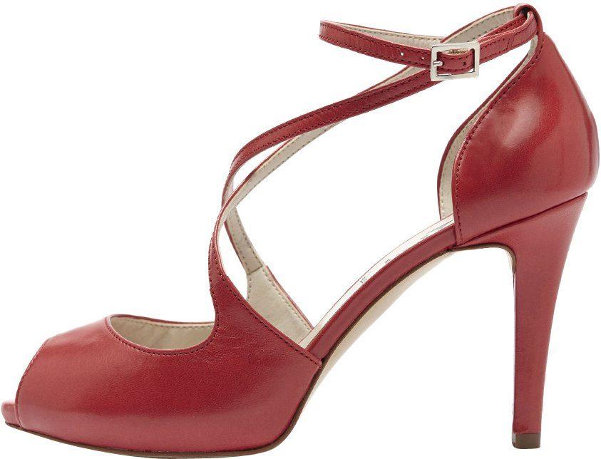 PoiLei Nadja High-Heel-Pumps, mit einzigartiger Form online kaufen  rot