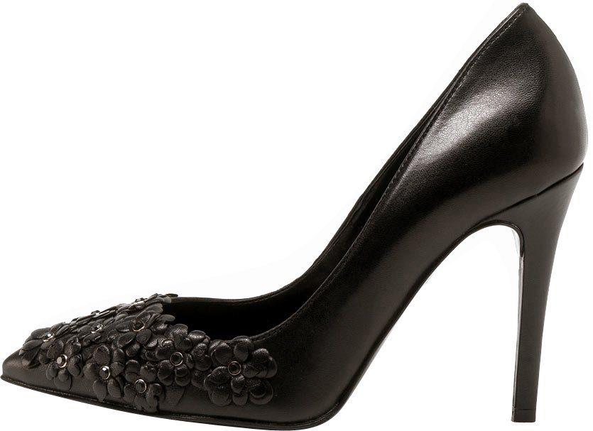 PoiLei Felicia High-Heel-Pumps, mit Blumen Applikationen online kaufen  schwarz