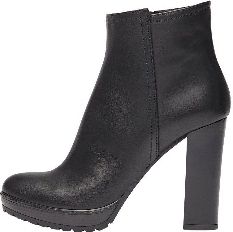 PoiLei Sam High-Heel-Stiefelette, mit feinen Ziernähten online kaufen  schwarz
