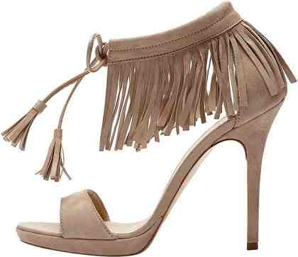 PoiLei »Fenja« High-Heel-Sandalette im angesagten Boho Stil