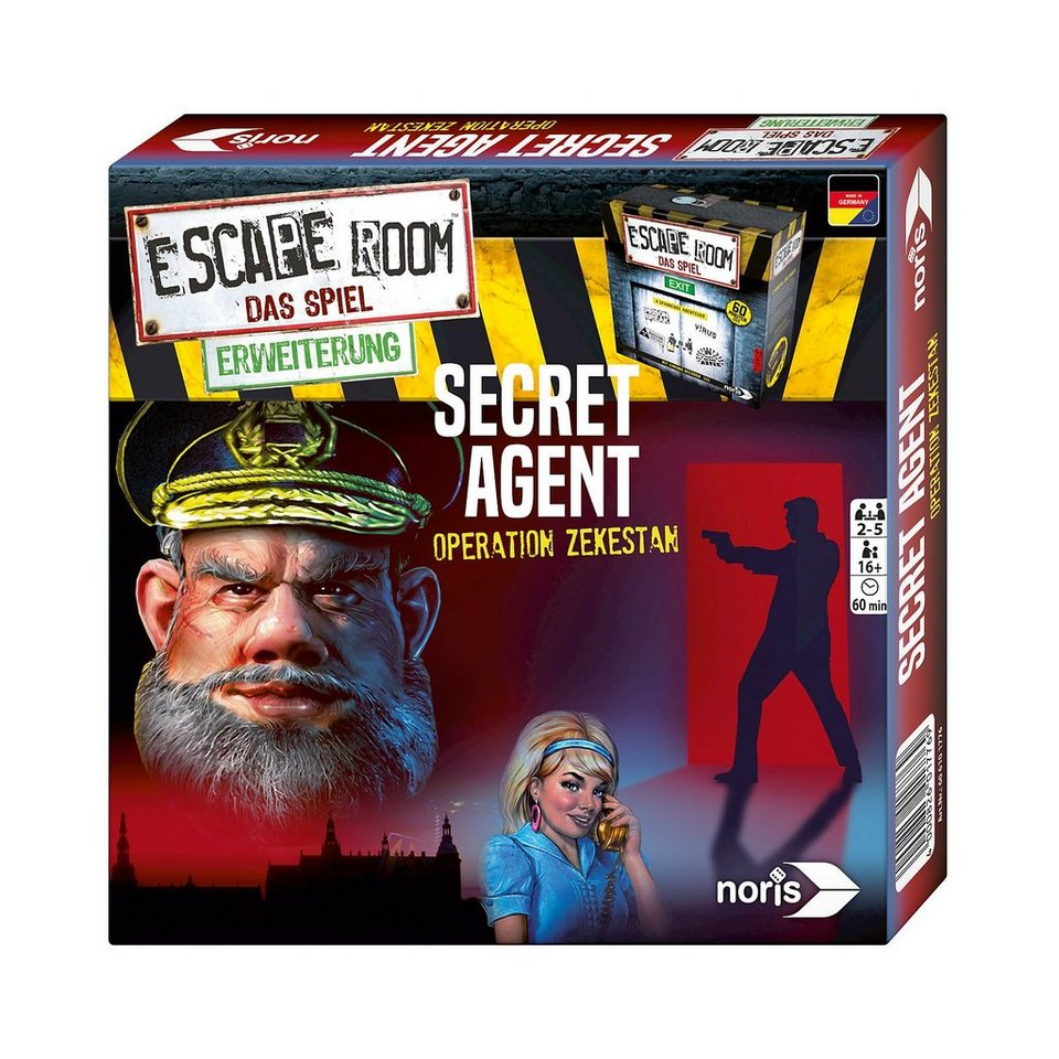 Noris Escape Room Erweiterung - Secret Agent