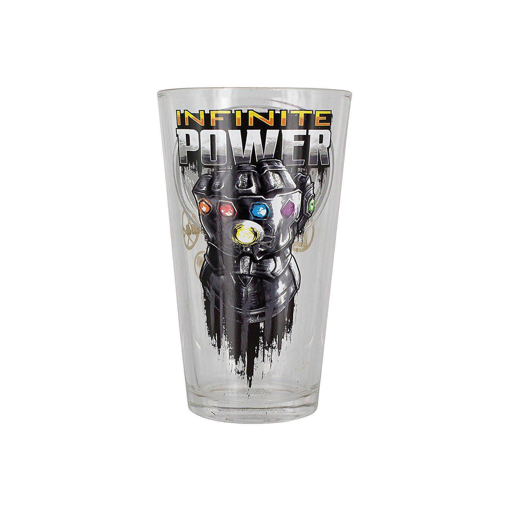 Marvel Avengers Infinity War Trinkglas 400 ml