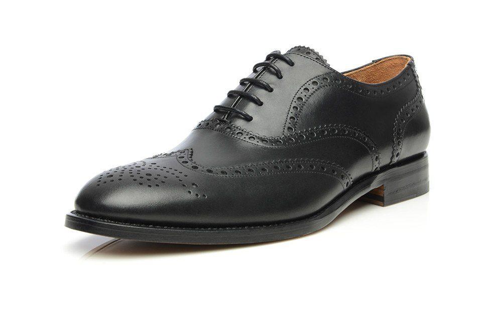 SHOEPASSION No 560 Schnürschuh, Rahmengenäht und von Hand gefertigt in Spanien online kaufen  schwarz