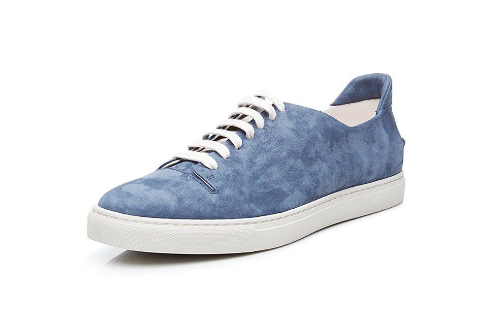 SHOEPASSION No 43 MS Sneaker, 100 % italienische Handarbeit online kaufen  blau