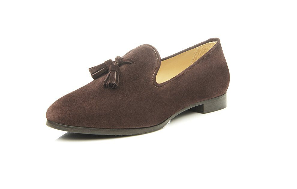 SHOEPASSION No 51 WL Loafer, 100 % italienische Handarbeit online kaufen  dunkelbraun