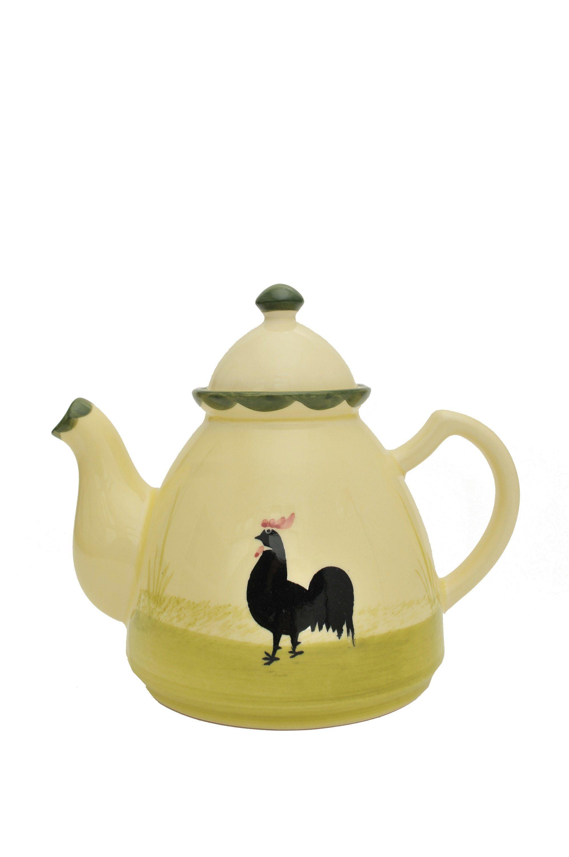 Zeller Keramik Teekanne »Hahn und Henne«