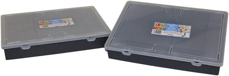 WHAM Set: Aufbewahrungsbox »Wham - Organiser Box«, 2er-Set, 13,6 l