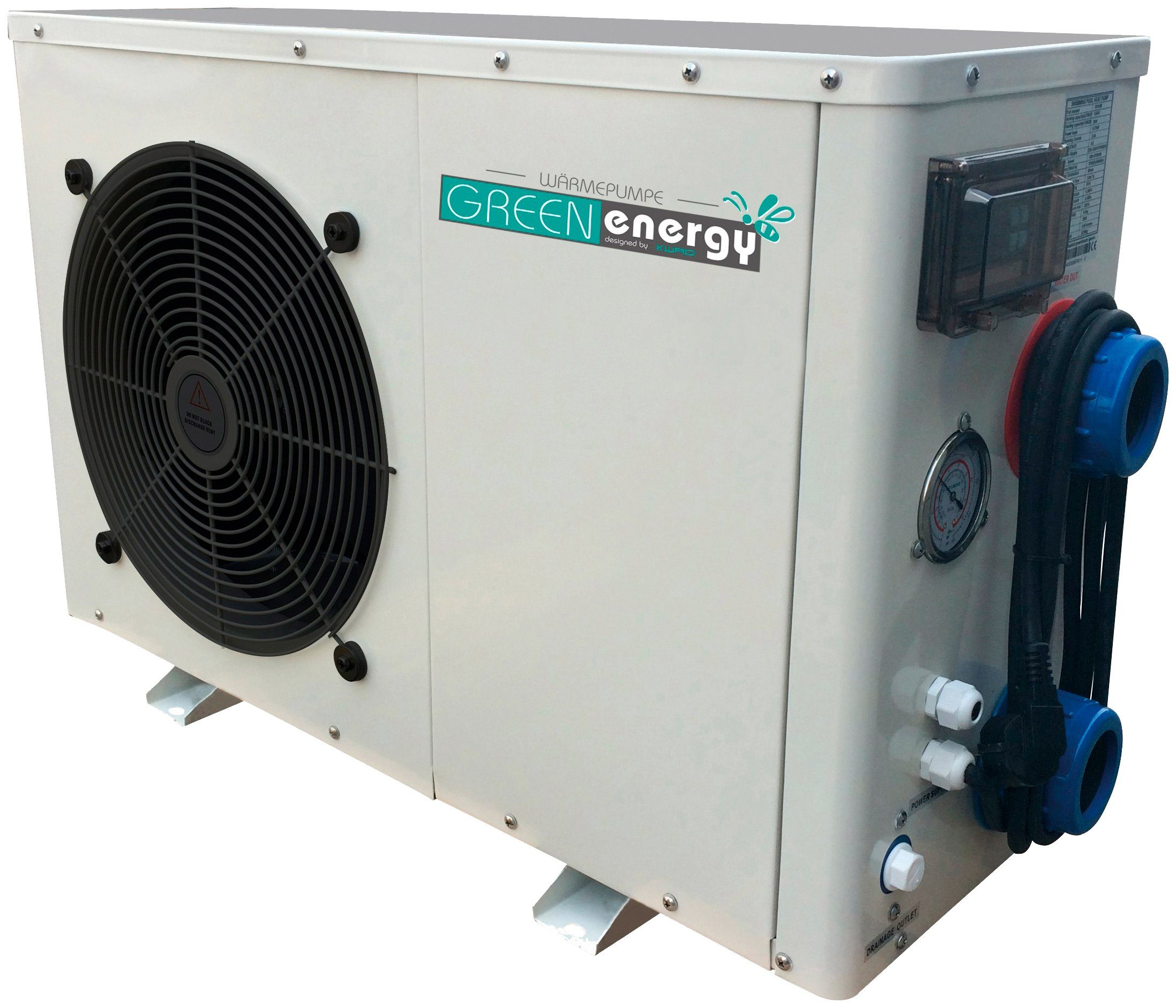 KWAD Wärmepumpen »Green Energy 8«, für Pools bis 30.000 l