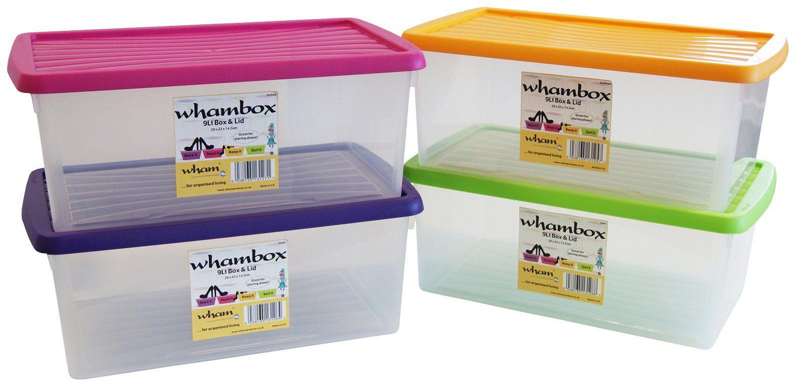 WHAM Set: Aufbewahrungsbox »Whambox«, 3er-Set, je 9 l