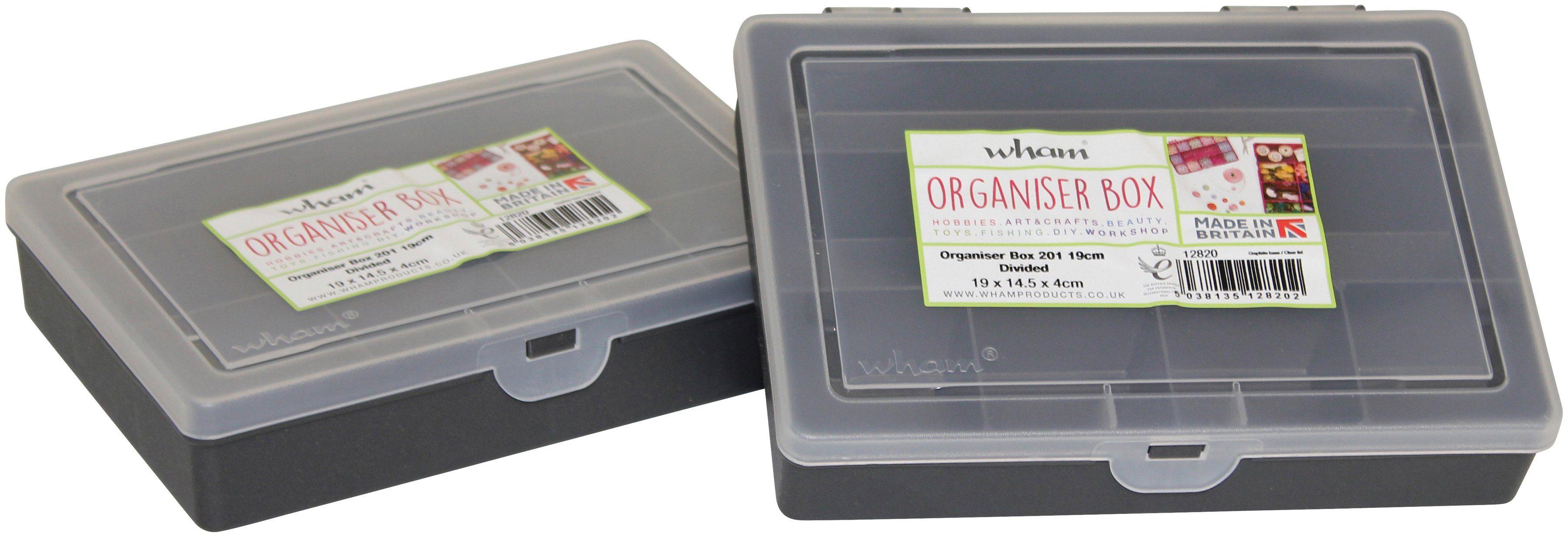 WHAM Set: Aufbewahrungsbox »Wham - Organiser Box«, 2er-Set, je 1,1 l