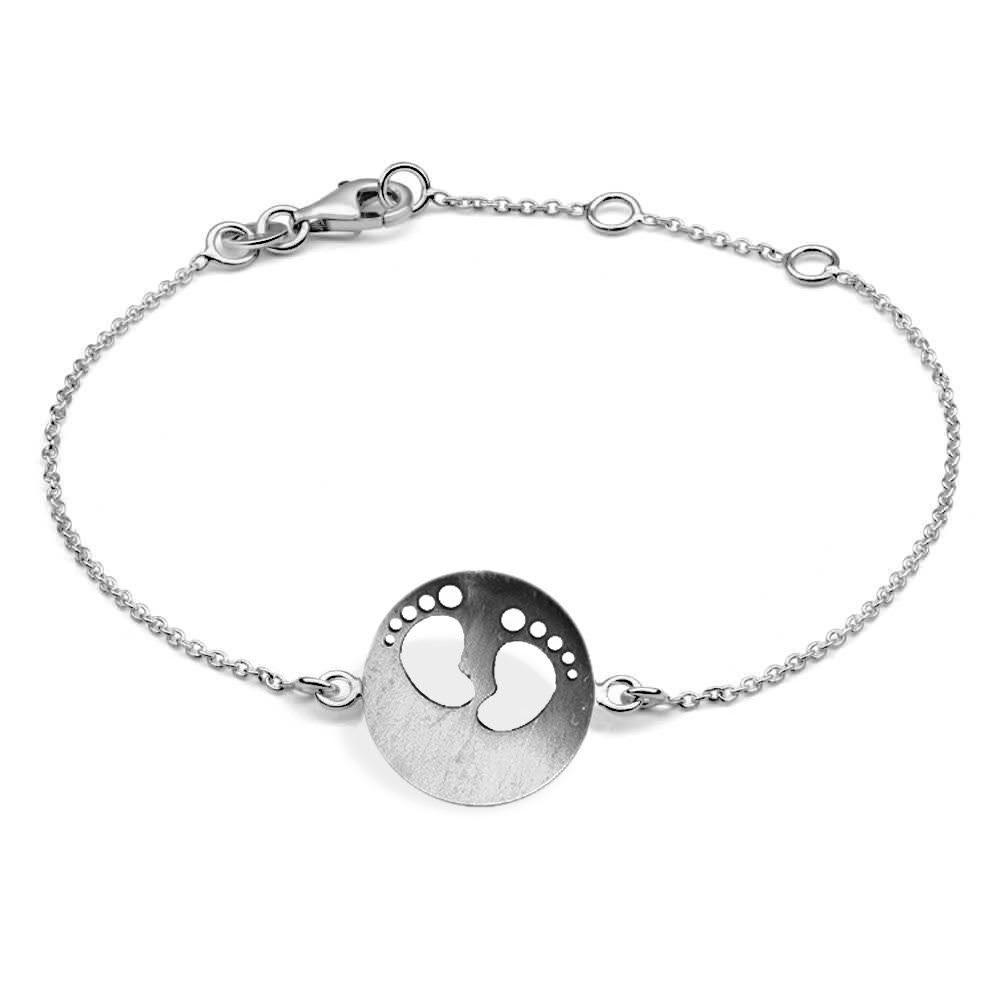 MyMacht Armband »925/- Sterling Silber rhodiniert«