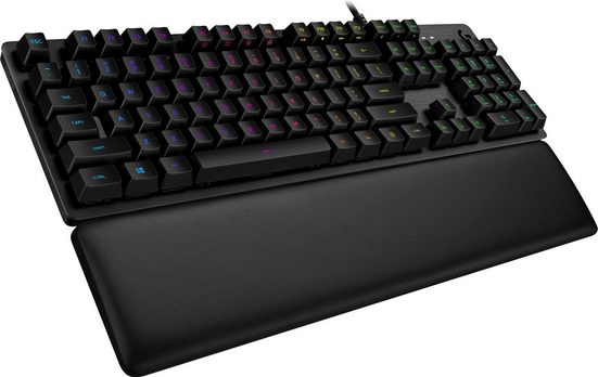 Logitech G »G513 Tactile / Carbon RGB / Mechanical DE-Layout« Gaming-Tastatur