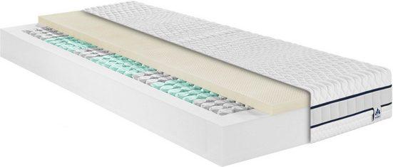 Taschenfederkernmatratze »Stralsund TFK«, Irisette, 22 cm hoch, 390 Federn, mit einer weichen-elastischen Latexauflage