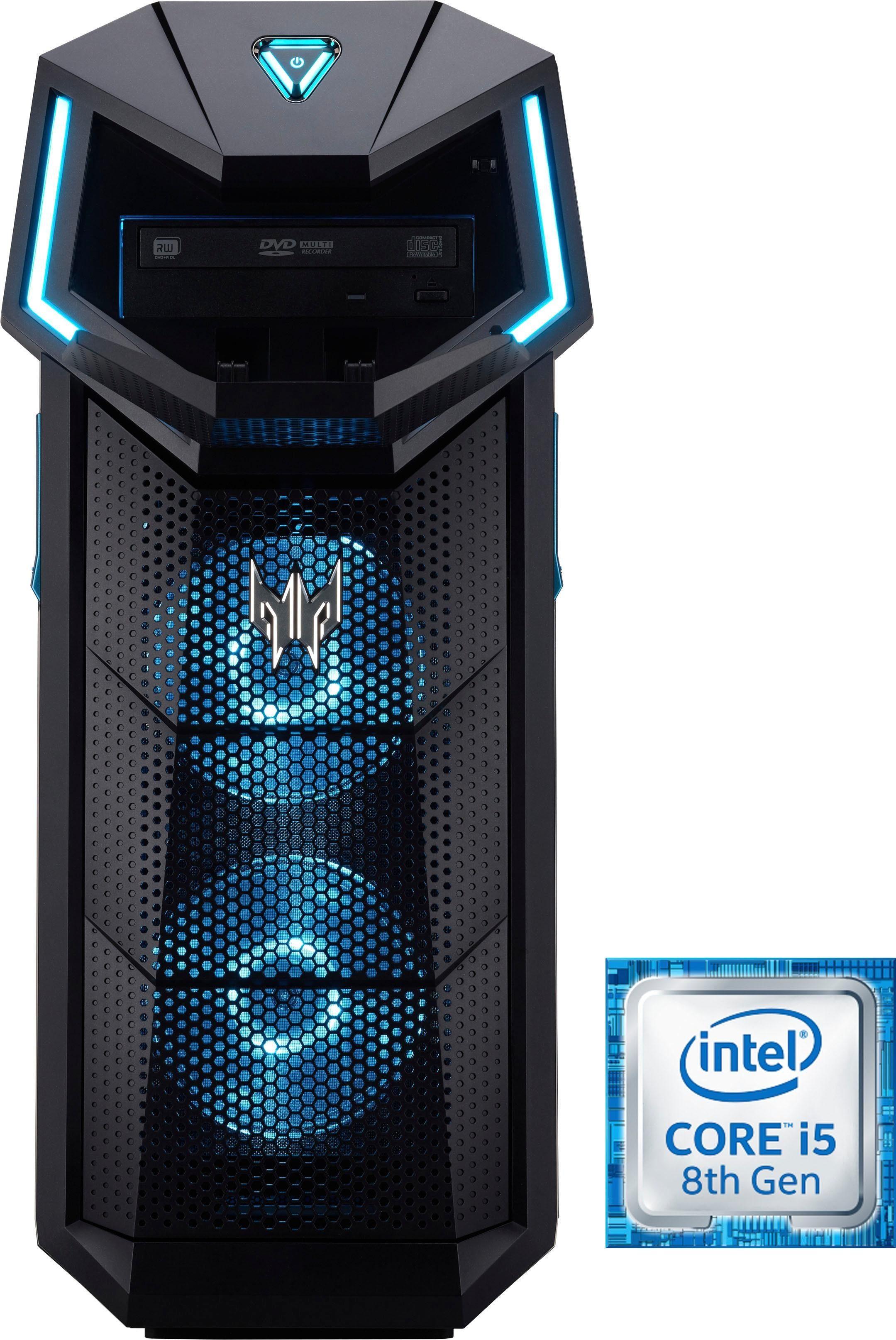 Acer Predator Orion 5000 DG.E0SEG.016 Gaming-PC (Intel Core i5, GTX 1060, 8 GB RAM, 1000 GB HDD, 128 GB SSD)