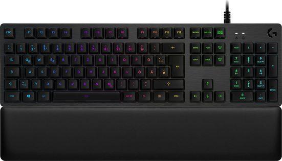 Logitech G »G513 Linear / Carbon RGB / Mechanical DE-Layout« Gaming-Tastatur