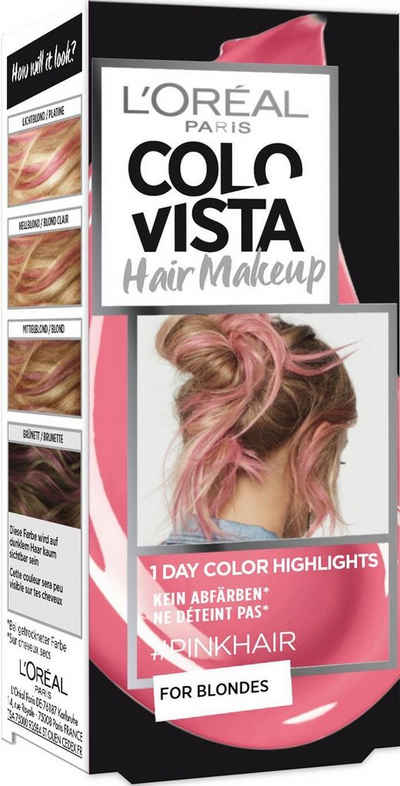 Colovista Haarfarbe 1 Day Color Highlights Hair Make Up