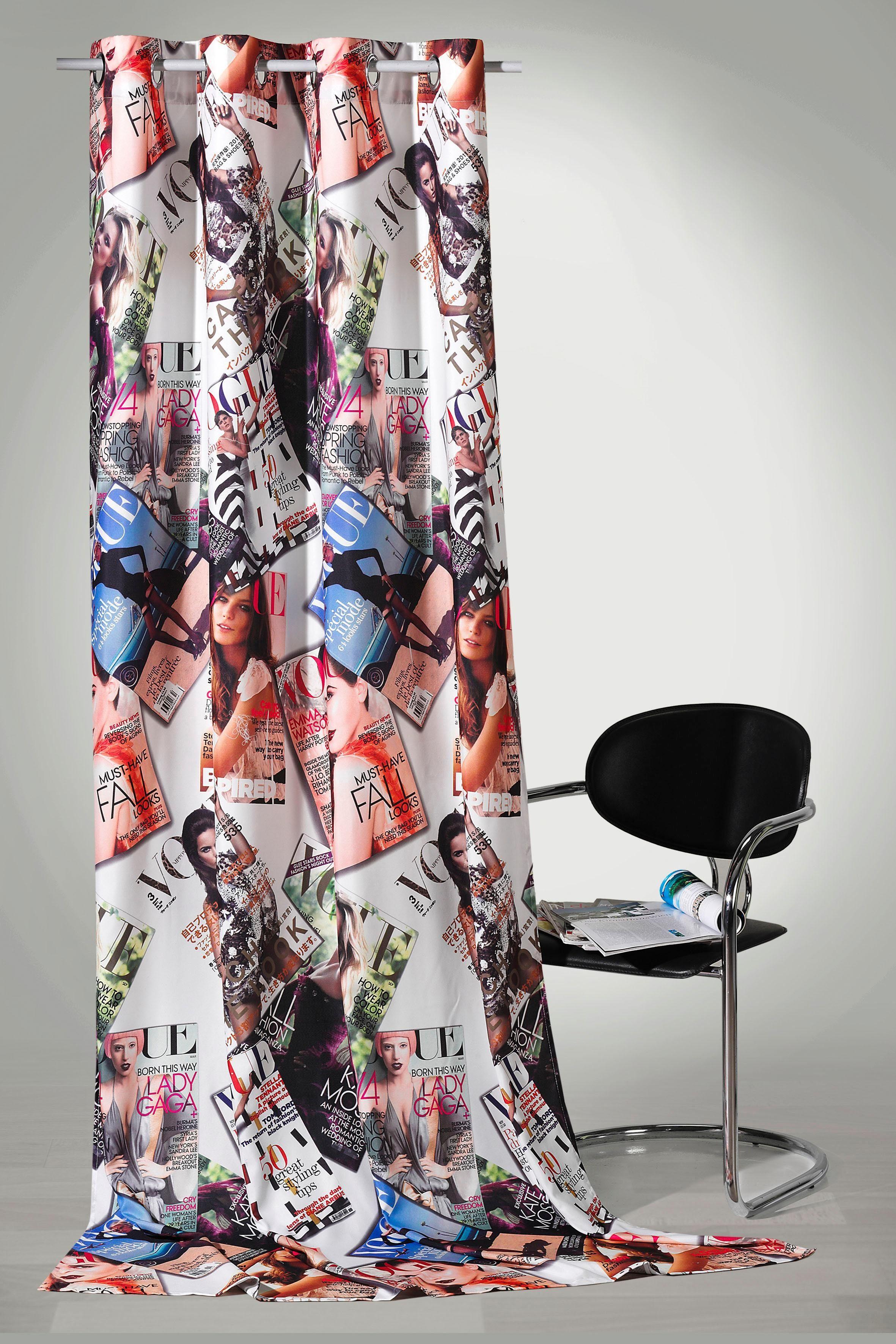 Vorhang »High Fashion«, Weckbrodt-Gardinen, Ösen (1 Stück), Metallösen