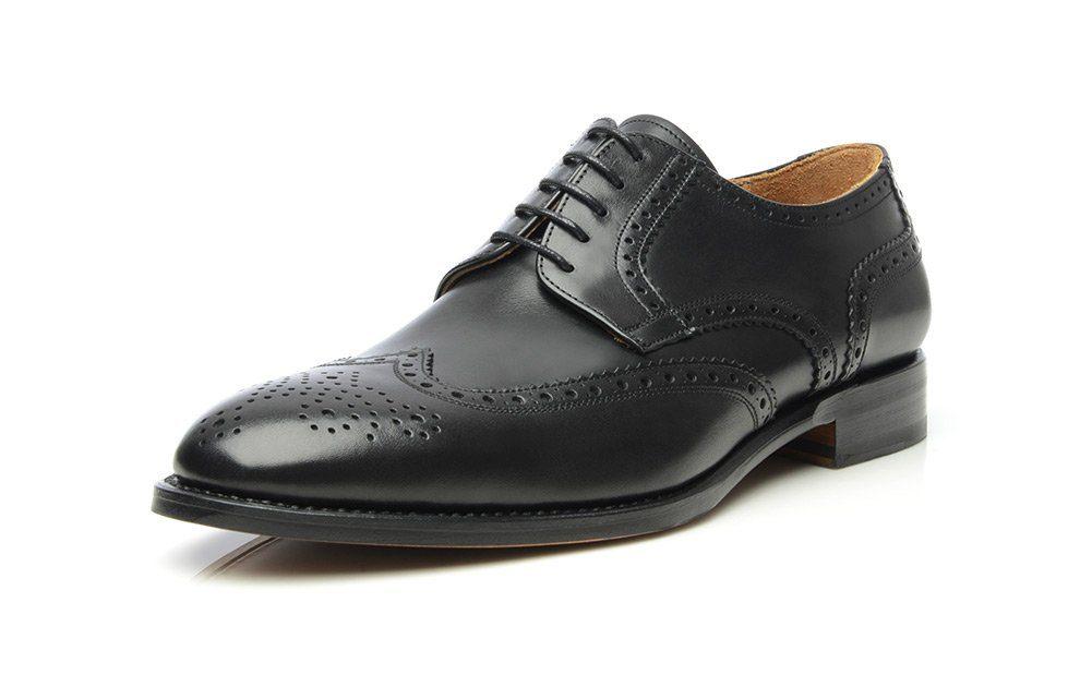SHOEPASSION No 550 Schnürschuh, Rahmengenäht und von Hand gefertigt in Spanien online kaufen  schwarz