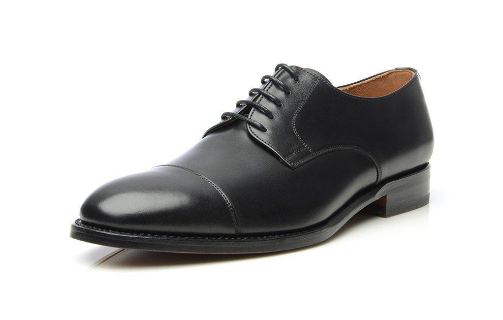 SHOEPASSION No 540 Schnürschuh, Rahmengenäht und von Hand gefertigt in Spanien online kaufen  schwarz