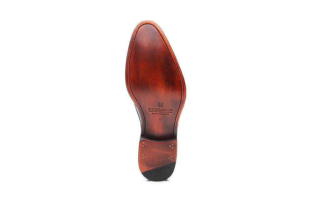 SHOEPASSION No 5422 Schnürschuh, Rahmengenäht und von Hand gefertigt in Spanien online kaufen  nachtblau